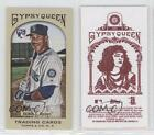 2011 Topps Gypsy Queen Mini Red Back #331 Greg Halman Seattle Mariners Card