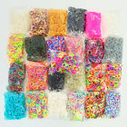 Rubber Bands Rainbow Bracelet Loom Bands refills for Rainbow loom refills