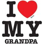 Grandpa I Love T Shirt Onesie Infant Toddler Baby Shower gifts