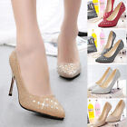 Fashion New Solid Stiletto Pointed toe Pumps Shoes Sexy Women High Heels Shoes