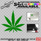 Interior Home Decoration Pot Leaf Decal Vinyl Car Window Marijuana Weed Cannabis Dope Sticker 420 Laptop Home Decor Entryway