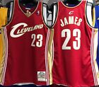 LEBRON JAMES CAVS MITCHELL & NESS 100% AUTHENTIC JERSEY ROOKIE 2003-04 NEW