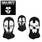 """CAGOULE 2 TROUS BALACLAVA MASQUE AIRSOFT TETE DE MORT CALL OF DUTY GHOST """"NEUF"""""""