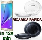 CARICABATTERIE ORIGINALE WIRELESS SAMSUNG FAST CHARGER GALAXY S6 - S7 EP-PN920B