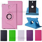 Fashion 360 Rotating Leather Stand Protective Case Cover For Samsung Galaxy Tab