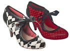 Dancing Days by Banned Apparel Good Vibrations Heels 3-8 Mary Janes