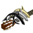 New Zinc Alloy Shark Spring Guitar Capo Quick Change Clamp Key Trigger Release