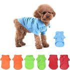 Cute Pet Dog Apparel Clothes Clothing Shirt Solid 100% Cotton POLO T-Shirt