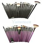 Pro 21Pcs Eye Eyeshadow Eyeliner Crease Blending Makeup Cosmetic Brushes Tool