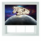 Millenium Falcon star wars themed black out roller blind various sizes rollo