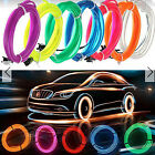 3M Soft Flash LED String Cold Light Glow El Strip Tube Wave Wire Party Xmax