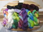 REDUCED Solid & Handpainted Filatura SOFT SILK  Yarn-12 color choices