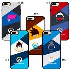 overwatch Zarya Tracer Lena Soldier 76 Mei Ling Hanzo Shimada ow iPhone case