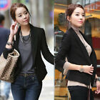 Suit Women's Slim Black New Fashion Solid Top Single-breasted 2015 Outwear Suits