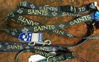 NEW ORLEANS SAINTS, DOG COLLARS or LEASH, made in USA $10.49 USD on eBay