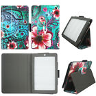 Case For Kindle Fire HD 7 2014 Syn Leather Slim Fit Folio Auto Wake/Sleep Cover