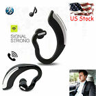 Wireless Stereo Bluetooth headset Hanfree Earpiece for Samsung iPhone LG Huawei