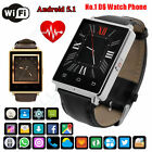 "1.63"" NO.1 D6 Smart Watch Phone 3G WCDMA 2G GSM Android 5.1 Quad Core 1G+8G WiFi"