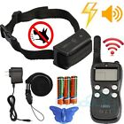 2017 Rechargeable Waterproof 1000 FT. Dog Shock /Vibrate /Beep Remote Train Collar
