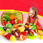 Toys Best Deals - Kids Pretend Role Play Kitchen Fruit Vegetable Food Toy Cutting Set Child Gift