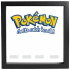 Lego Pokemon Minifigures Display Case Picture Frame mini figures