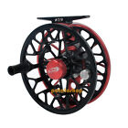 Fly Fishing Reel Machined Aluminum 2+1 BB Left Right Hand Disc Drag System Perch
