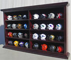 32 Pocket Pro NFL Mini Helmet Display Case Shadow Box Wall Cabinet MH07