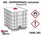 IPA Isopropanol ALCOHOL Isopropyl PureChem 99.9% 250ml-1000L **BIG DEAL DAILY**
