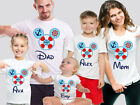 Disney Cruise Custom Family T-shirts. Personalized Disney Cruise Family Tops.