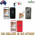 Apple Ipod Touch 6th 5th Gen Case TPU Smooth Soft Gel Skin Cover +Protector