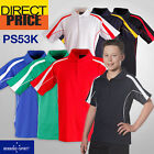 Kids' Unisex Polo Casual Short Sleeve Sports Golf Contrast Breathable UPF 30+