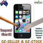 Apple Iphone 4S 4 Tempered Glass Screen Protector BRAND NEW