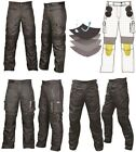Men's Cordura Textile Waterproof Motorbike Motorcycle Trousers Pants