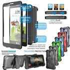 For LG G Stylo 2/Stylus 2 Armor Refined Phone Cover Belt Clip Holster Hard Case