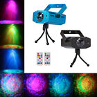RGB LED Water Wave Ripple Effect Projector Party DJ Music Auto Stage Light