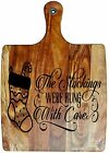 Engraved Painted & Bread/Chopping Board - Christmas Gift 69