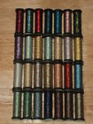 Kreinik VERY FINE 4 BRAID 11 Meters 12 Yds Hibiscus 393 to Ginseng Gold 4003