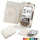 Forefront Cases® Smart Leather Case Cover with LED Light for Tolino Page