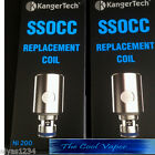 Authentic Kangertech SSOCC 0.15ohm Ni-200 Nickel Coils, Authenticity Code