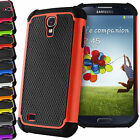 SHOCK PROOF DUAL LAYER HARD CASE FOR SAMSUNG GALAXY S3 S4 S5 S6 S7 EDGE NOTE 3 4