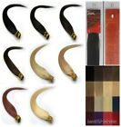 """Women Beauty 22"""" Stick-tipped Straight Remy Human Hair Extensions 100s 8Colors"""