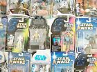 STAR WARS MIXED CARDED FIGURES (A) - POTJ/POTF2/SAGA - MOC - SEE PHOTOS!