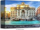 Trevi Fountain, Rome, Italy. Art Print Home Decor Wall Art Poster - D