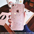 Glitter Star Cell Mobile Phone Case Clear TPU Cover Shell for iPhone 7/7 Plus/6S