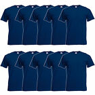 FRUIT OF THE LOOM T-SHIRT 5er / 10er Original T Herren  Navy   S - 5XL 61082