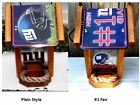 NEW YORK GIANTS TWO-SIDED CEDAR  BIRD FEEDER on eBay
