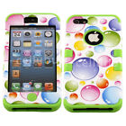 Mybat Tuff Shockproof Dual Layer Armor Hybrid Case Cover for Apple iPhone 5