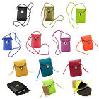 Cross-body PU Leather Shoulder Bag Pouch for iPhone 5 5G iPhone 6S/Plus Samsung