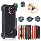 R-JUST Aluminum Shockproof + 3 Angle Lens Case Cover For Samsung Galaxy S7 /Edge