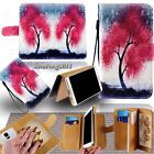 New Leather Stand Flip Wallet Cover Phone Case For Various HTC Mobile + Strap